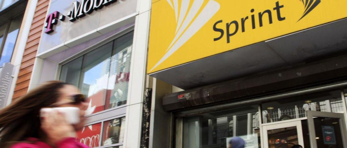 Sprint и T-Mobile объединяются